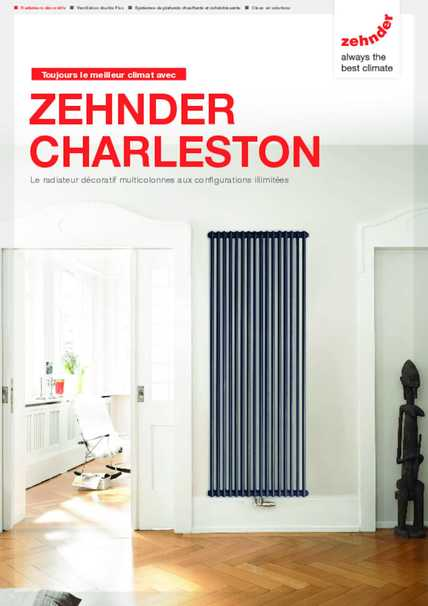 zehnder charleston zehnder group en france. Black Bedroom Furniture Sets. Home Design Ideas