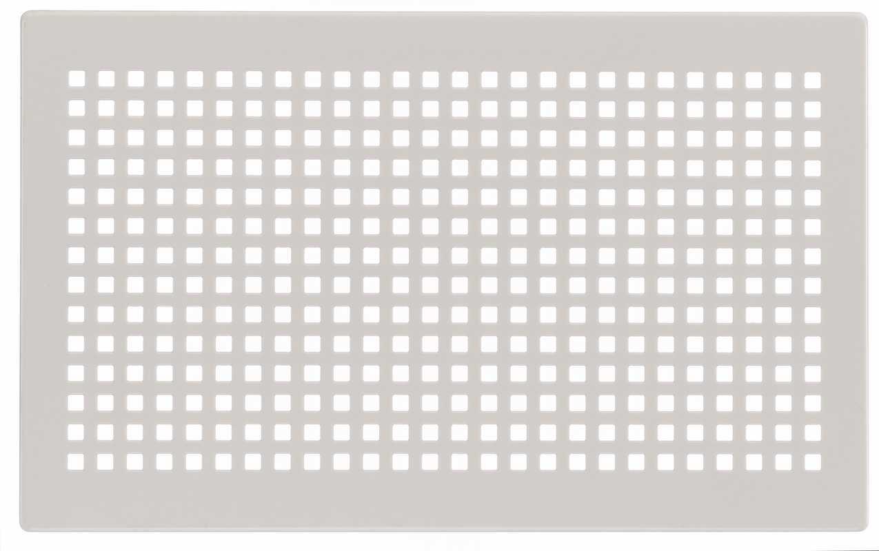 Grilles design blanc pour boîtier CLD