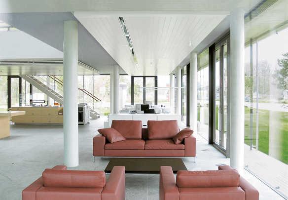 Syst mes de plafonds chauffants et rafra chissants zehnder group en france - Plafond rayonnant hydraulique ...
